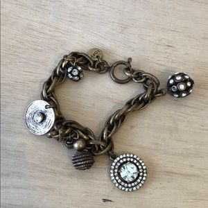 Loft bronze tone bracelet